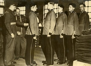 United Kingdom London Coldstream Guards Inspection Old Press Photo 1950