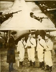 United Kingdom WWII Australians Aviators Wing Commander Lachal Press Photo 1940