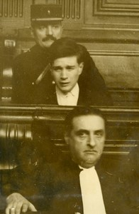 France Criminology Killer Pierre Garnier Trial Old Manuel Photo 1932