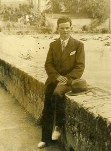 France Criminology Murder of Germain Dellus Ginolhac Old Press Photo 1933