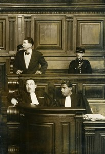 France Paris Criminology Killer Richard Feys Trial Old Manuel Photo 1936