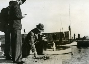 France Toulon Ammunition discovered in the Port Old Press Photo 1938