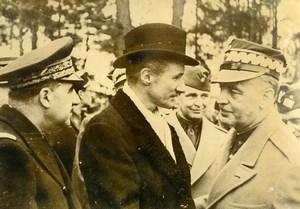 France Paris WWII Polish Prime Minister General Sikorski Old Press Photo 1940