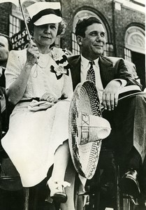 Lawyer Politician Wendell Willkie & Wife Old Press Photo 1941