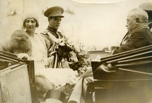 Belgium Antwerp Fair Prince Leopold Princess Astrid Old Press Photo 1930