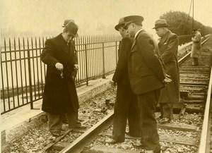 Choisy le Roi Criminology Murdered Union Leader Cassier Railway Old Photo 1938