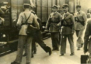 France Toulon Arsenal Automatic Rifle Thief Sent to Jail Old Photo 1939