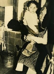 France Nancy Criminology Dos Santos Ex GI Killing his family Old Photo 1947