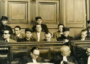 France Paris Criminology Andre Loiseau Dede la Boulange Trial Old Photo 1948