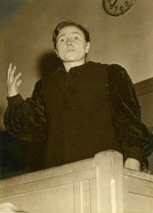 France Paris Criminology Husband Killer Angele Dessiaume Old Photo 1948