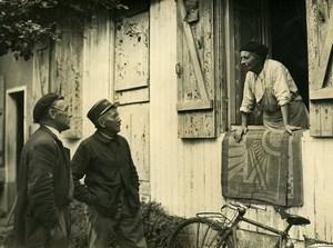 France Garancieres Criminology Mme Roboux & M Audrain Old Photo 1948