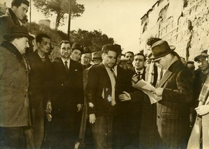 France Corbiere Criminology Baudron Murder Reconstruction Old Photo 1949