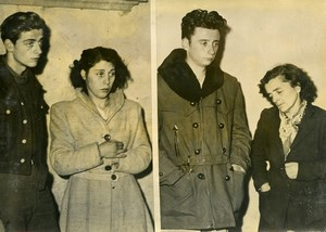 France Voiron Criminology Marius Boursat Murderers Old Photo 1949