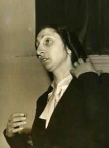 France Paris Criminology Lover Murderer Marie Therese Ligne Old Photo 1950