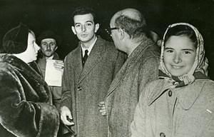 France Bayonne Jail Liberation of Brazilian Joas Da Silva Old Photo 1950