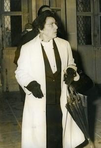 France Loudun Criminology Marie Besnard Arsenic Serial Killer Old Photo 1960