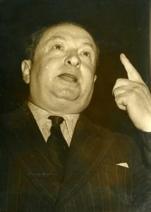 France Paris Criminology Joseph Joanovici Collaborationism Old Photo 1957