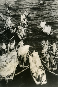 Portugal Madeira Nautical Hawkers Peddlers Cruise Ship Stop Old Photo 1939