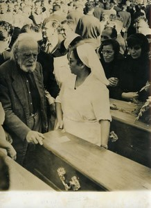 Morocco Funeral Victims of Meknes Riots Old Photo 1956