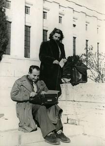 Switzerland Greek journalist Henri Polydefkis World Citizen Old Photo 1948