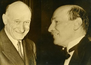 France Maurice Schumann & Clement Attlee Political Old Photo 1949