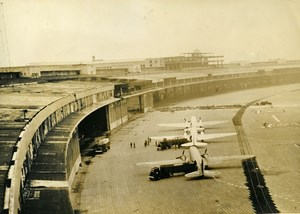 Germany Berlin Blockade Airlift Tempelhof Airport American Aviation Photo 1948