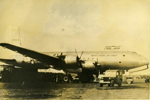 Germany Berlin Blockade Airlift Airport American Aviation Old Photo 1948
