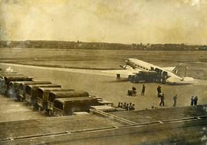 Germany Berlin Blockade Airlift Airport British Aviation RAF Gatow Photo 1948