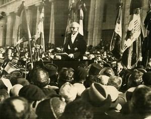 Morocco Casablanca Marechal Lyautey Funeral Ceremony Old Photo 1935