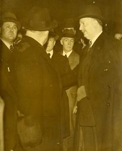 France Paris Pierre Etienne Flandin Locarno Pact Political Old Photo 1936