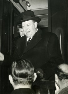 France Paris Trygve Lie Secretary-General of the United Nations Old Photo 1948