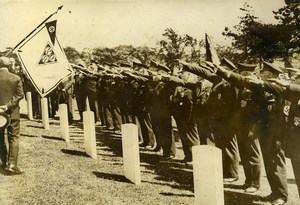United Kingdom Brighton Germans Veterans Soldiers Old Photo 1935