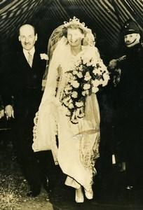 United Kingdom Ellesborough Miss Janet Attlee Wedding Clement Attlee Photo 1947