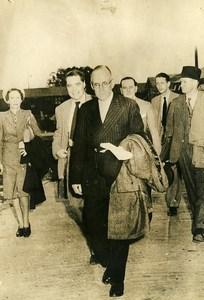 United Kingdom London Sir Wildried Eady Dollar Crisis Political Old Photo 1947