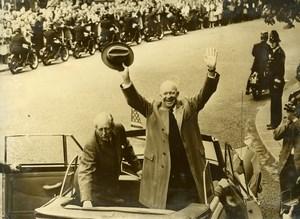 United Kingdom London American President Ike Eisenhower Old Photo 1959