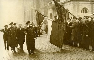 Bulgaria Sofia Ceremony Military Parade Old Photo 1930's