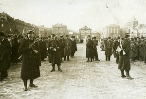 France Versailles Presidential Election Security Personnel Old Photo 1913