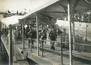 Norway Trondheim King Haakon VII & Prince of Wales Old Photo 1910