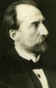Estonia State Elder Jaan Tõnisson Portrait Old Photo 1928