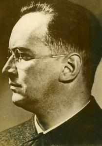Reich Commissioner & Gauleiter of Prague Konrad Heinlein Old Photo 1939