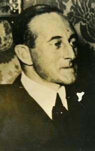 Portrait of the German Ambassador in Brazil Karl Ritter Old Photo 1938