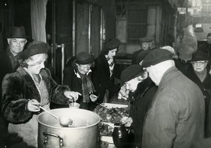 France Paris Charity Mrs Duchoiselle Association Stew for Elderly Photo 1948