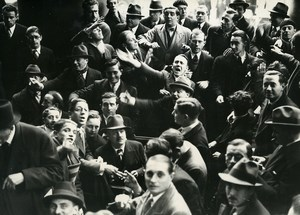 France Paris Stock Exchange Stockbrokers Coulissiers Old Photo 1948