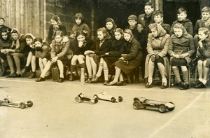 United Kingdom Chiswick High school Model Race Cars Championship Old Photo 1948