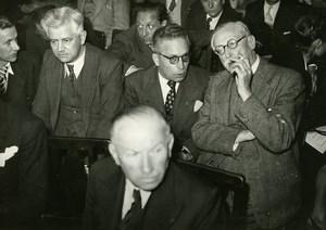France Paris Leon Blum National Congress Socialism SFIO Old Photo 1947