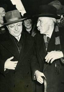 Italy Roma Marcel Cachin & Palmro Togliatti Communism Old Photo 1949