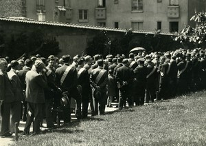 France Paris Pere Lachaise Communards' Wall Freethinking League Old Photo 1934