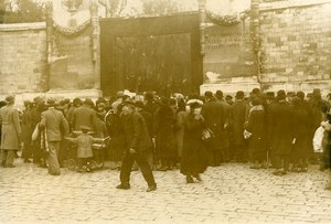 France Paris All Saints Day Celebration Pere Lachaise Cemetery Photo Manuel 1932