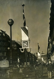France Paris Avenue de l'Opera 60th anniversary Old Meurisse Photo 1937