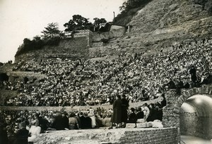France Vienne Celebration at Roman Theater after Renovations Old Photo 1938